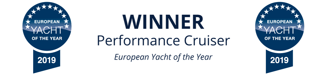 Winner - Performance Cruiser - European Yacht of the Year 2019 - Arcona 435